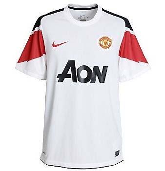 2010-11 Man Utd Away Nike Football Shirt (Kids)