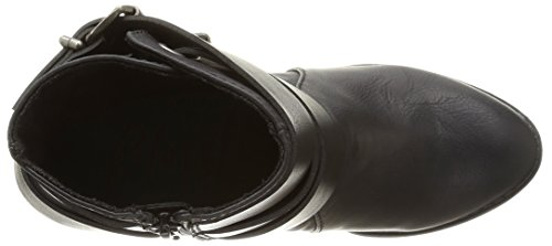 de saddle negro Schwarz mujer Sworn Blowfish Botas sintético old blk wqEnfz