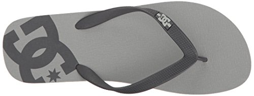 M Sandals Thong Shoes Spray DC Mens Grey RqwgZpx