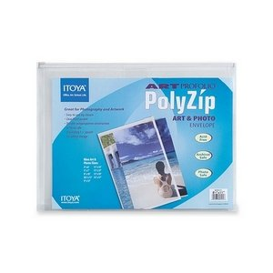 - ITYAZ811 - Art Profolio PolyZip Art amp; Photo Envelope