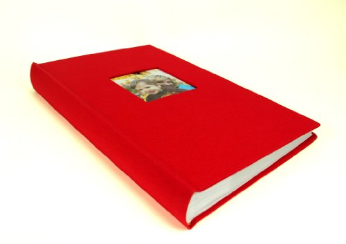 Deluxe Cloth Fabric Photo Album 4x6 300 Plastic Slip In Import It All