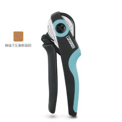 フエニックスコンタクトphoenic contact CRIMPFOX CENTRUS 10S 棒端子(フェルール)用圧着工具 適合電線サイズ0.14-6mm/26-8AWG ダイの幅12mm   B06WRXBVRK
