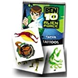 Ben 10 Alien Force Temporary Tattoos