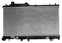 TYC 2778 Subaru 1-Row Plastic Aluminum Replacement ()