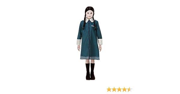 Disfraz oficial de Miércoles de la familia Addams, de Smiffys ...