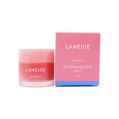 - LANEIGE Lip Sleeping Mask ,Berry, Lip Treatment, 0.7 Qunce