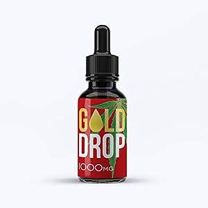 Hemp Oil Drops by GoldStarHerbals 10% 1000MG 10ml ...