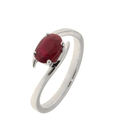 Bague Or 750 Rubis ref 31067