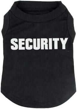 BINGPET Security Dog Shirt Summer Clothes