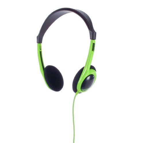 2XL Over-Ear Wrecking Ball Stereo Headphones - Grey/Green