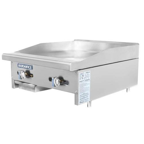 """Turbo Air (TAMG-24) - 24"""" Gas Griddle – Radiance Series"""