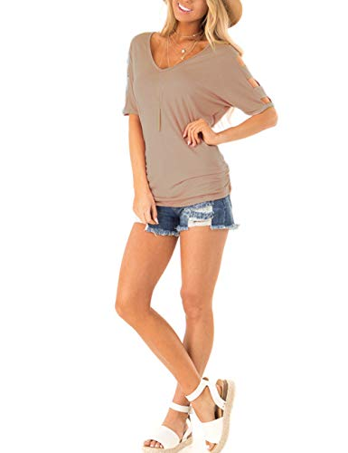 Buy social blouse short sleeve