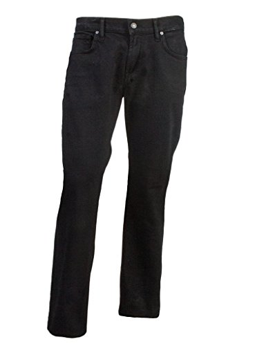 7 For All Mankind Men's Brett Slim Bootcut Jean in Black Out, Black Out, 36