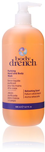 Body Drench Hand and Body Wash, Purifying, 16.9 Ounce