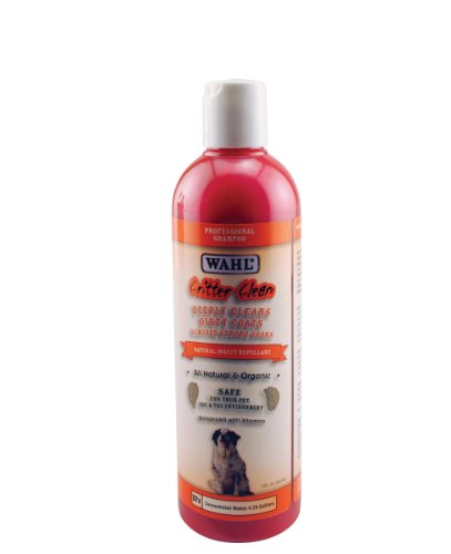 803616-200 Critter Clean Shampoo (17 oz.) Coat Care Line by Wahl Professional Animal