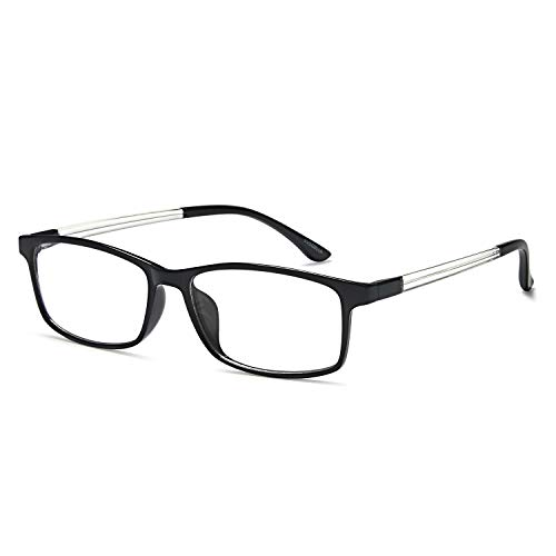 Blue Light Blocking Glasses, Reading Glasses 1.5 TR90 Lightweight UV Protection Anti Glare Computer/Game Readers Lesebrille Antireflective for Women & ()