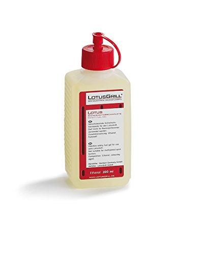 LotusGrill Sicherheitsbrennpaste aus Bio-Ethanol, Transparent, 14,0 x 11,8 x 5,5