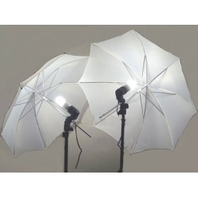 2 PHOTOGRAPHY STUDIO CONTINUOUS LIGHTING KITS W/ TWO FREE Day-Light CFL LIGHTS & UMBRELLAS FOR PRODUCT, PORTRAIT, & VIDEO SHOOT
