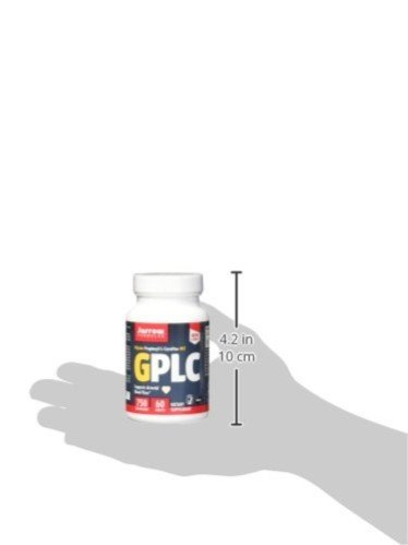 Jarrow Formulas GPLC, Supports Arterial Blood Flow, 750 mg, 60 Tabs (Pack of 2)