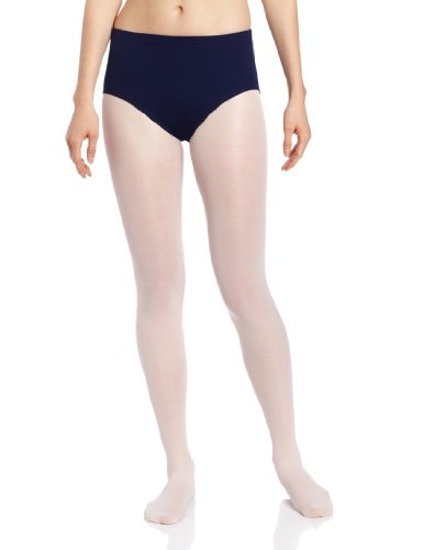 Capezio Women's Brief,Navy,Medium