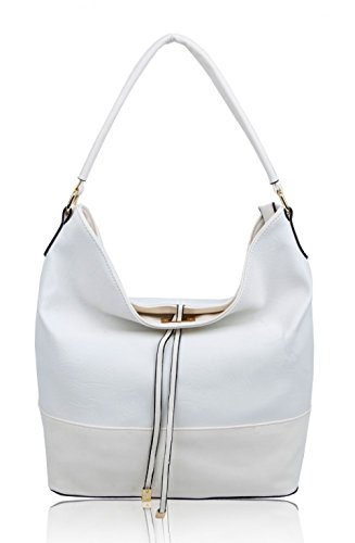 Faux Bags Ladies Tassel Leather Fashion LeahWard® CW150906 Tote Women's Bag Style White Shoulder For Handbags zwnqBI6U