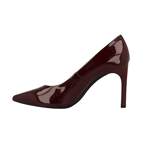 Rojo Mujer Bordeaux Faviola Tacón D Geox de C Zapatos C7005 para 0z8wpzxH