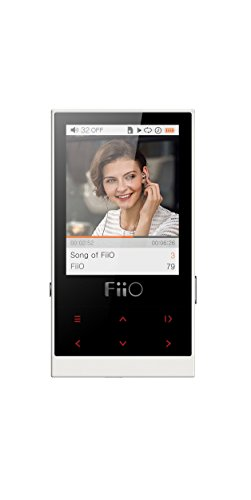 FiiO M3 8GB Micro-Portable Digital Music Player, Ivory