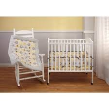Little Bedding By Nojo 4 Piece Secure-me Porta-crib Bumper; Elephant Time Yellow