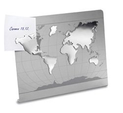 magnettafel weltkarte Memoboard Pinwand Magnettafel   Weltkarte   mit Zettelhalter  magnettafel weltkarte