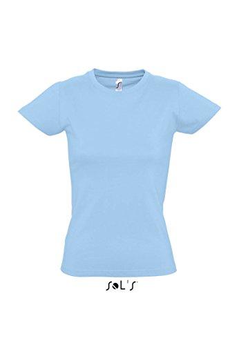 Sol 's–Imperial Women–Camiseta azul celeste