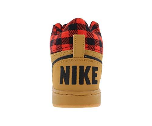 Mid Da Borough Grey Court Scarpe heather Nike Uomo Basket BwZOgqxOn4