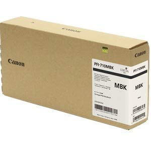 (Canon Genuine Ink Tank PFI-710MBK - Matte Black 700ml by CES Imaging 2353C001AA)