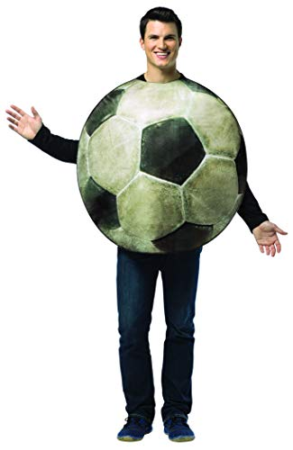 Rasta Imposta Get Real Soccer Ball, White/Black, One Size -