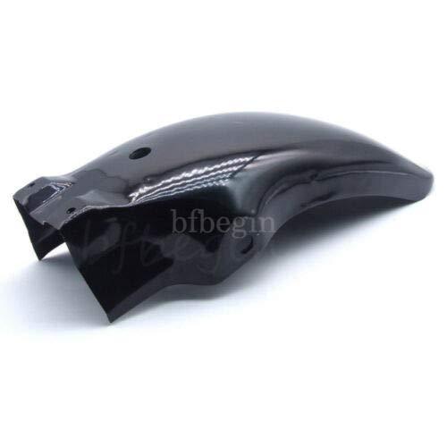 FidgetGear Garde-Boue arri/ère Noir pour Cruiser Chopper Bobber Cafe Racer Shadow