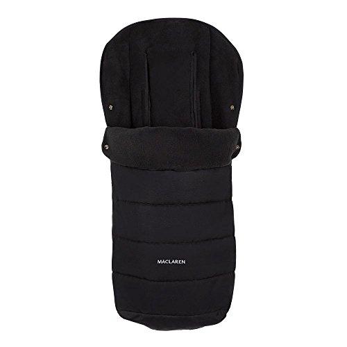 Maclaren Saco para silla de paseo universal, color negro, con cremal