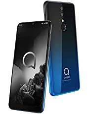 Alcatel 3, Black And Blue Gradient