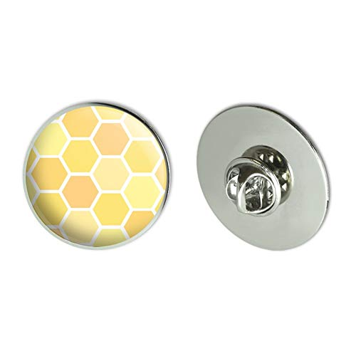 GRAPHICS & MORE Yellow Honeycomb Pattern Metal 1.1