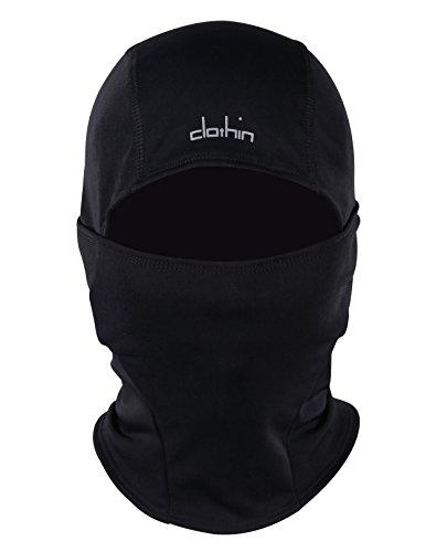 Clothin Ski Mask Balaclava Fleece Lined Windproof Skiing,Snowboarding,Motorcycling,Winter Sports