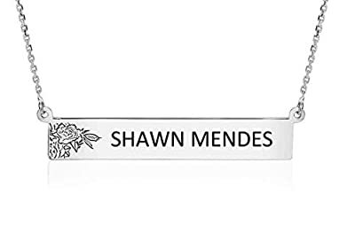 Jewelry by Jules Shawn Mendes Titanium Bar and Stainless Steel Necklaces