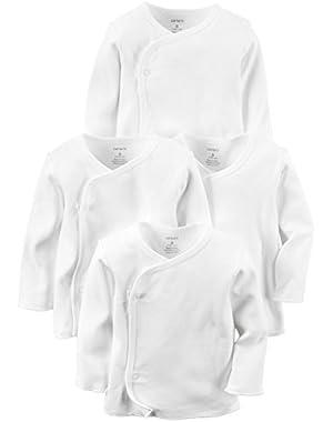Carter's Baby Unisex 4-Pack Kimono Tees