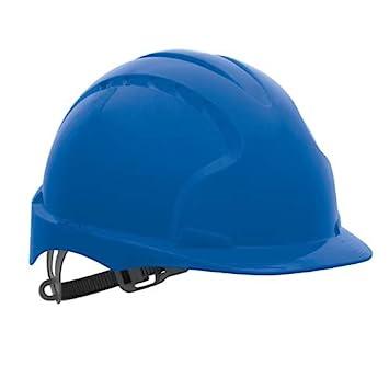 JSP EVO2 – sin ventilación casco de seguridad, color azul