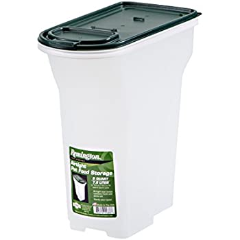 Remington Airtight Pet Food Storage, 8-Quart, Hunter Green