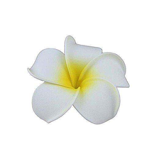 Mcmola Mcmola Women's Fashion Beach Hawaiian White Plumer...