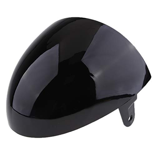 (Flameer Universal Tail Rear Seat Cowl Cover Fairing Protector for Retro Cafe Racer - Black)
