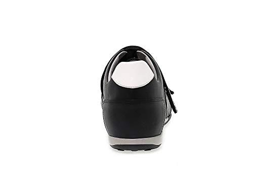 Uomo Bikkembergs Sneakers Pelle Nero Bke107803 r8xrS50Yqw