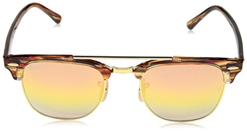 Rb3816 Sunglasses Gold Ray ban Clubmaster Doublebridge 5Px0fB