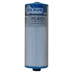Filbur FC-0173 Antimicrobial Replacement Filter Cartridge for Select Pool and Spa Filter