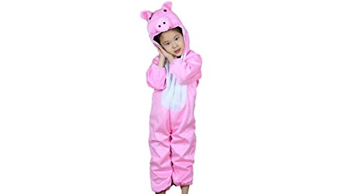 (Kids Animal Costumes Boys Girls Pajamas Fancy Dress Outfit Cosplay Children Onesies (L (for Kids 41.5