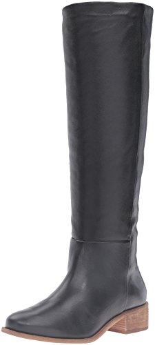 Leather Black Boot Corso Garrison Riding Women's Como Tumbled q0wXwOp
