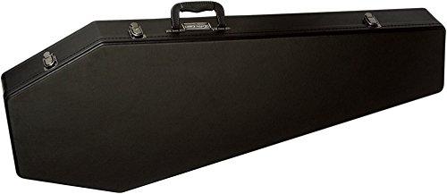 Coffin Case Guitar Case Black Red